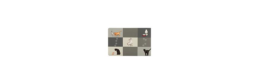 Podkładki pod miski dla kota